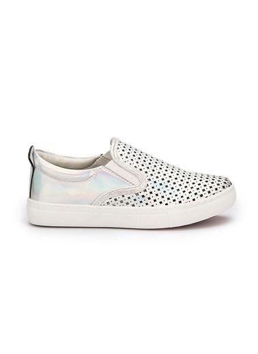 Pink Step Sneakers Gümüş